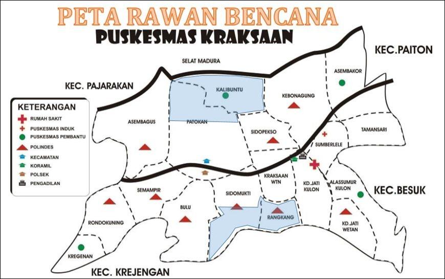 Peta Rawan Bencana Kraksaan 2013